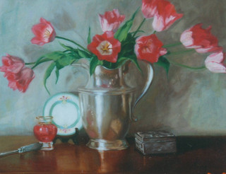 Tulips and Silver