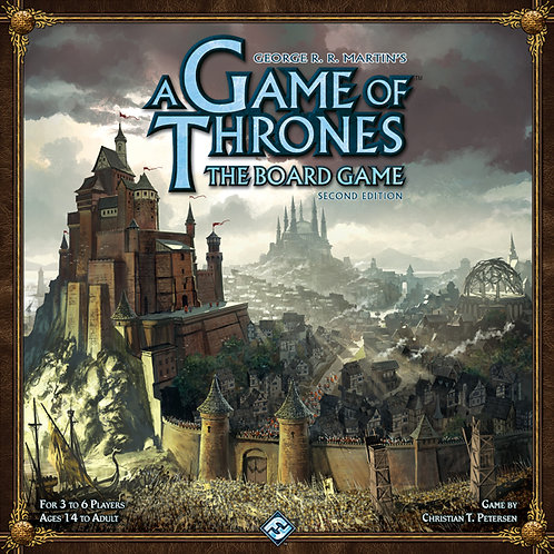 A GAME OF THRONES BOARDGAME: 2ND EDITION
