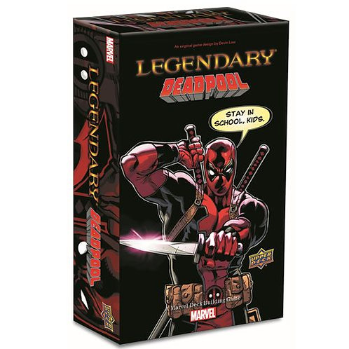 MARVEL: LEGENDARY DECK BUILDING GAME - DEADPOOL SMALL BOX EXPANSION