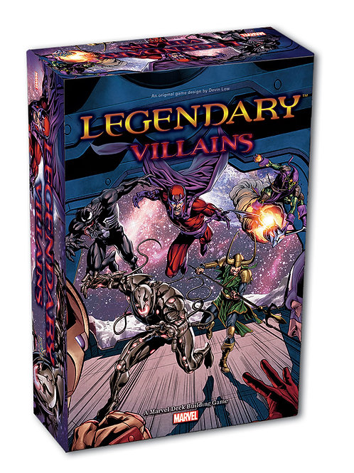 "MARVEL - LEGENDARY DECK BUILDING GAME: ""VILLAINS"""