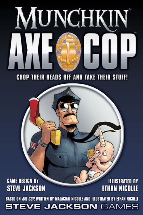 MUNCHKIN: AXE COP