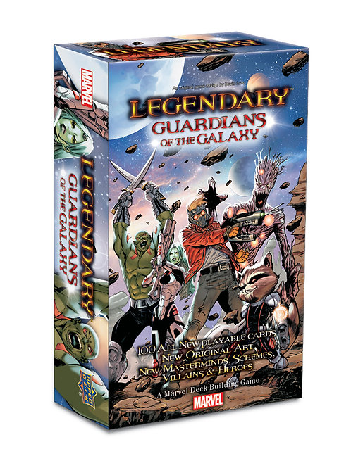 "MARVEL - ""LEGENDARY"" DECK BUILDING GAME: ""GUARDIANS OF THE GALAXY"" (EXPANSION 4)"
