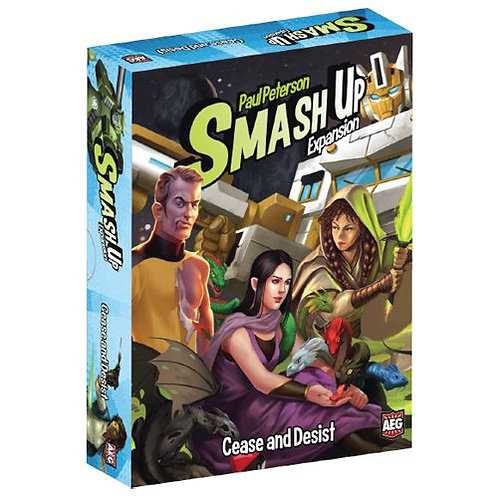 "SMASH UP: ""CEASE AND DESIST"""