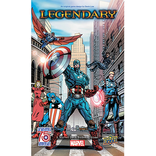 "MARVEL: ""LEGENDARY"" DECK BUILDING GAME - CAPTAIN AMERICA 75TH ANNIVERSARY SMALL"