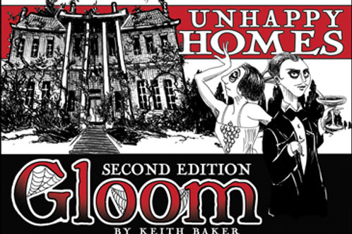 "GLOOM CG 2E: ""UNHAPPY HOMES"" EXPANSION"
