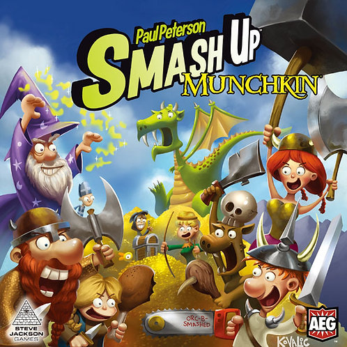 "SMASH UP: ""MUNCHKIN"""