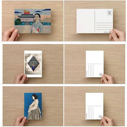 CYA Postcard set - 3 prints