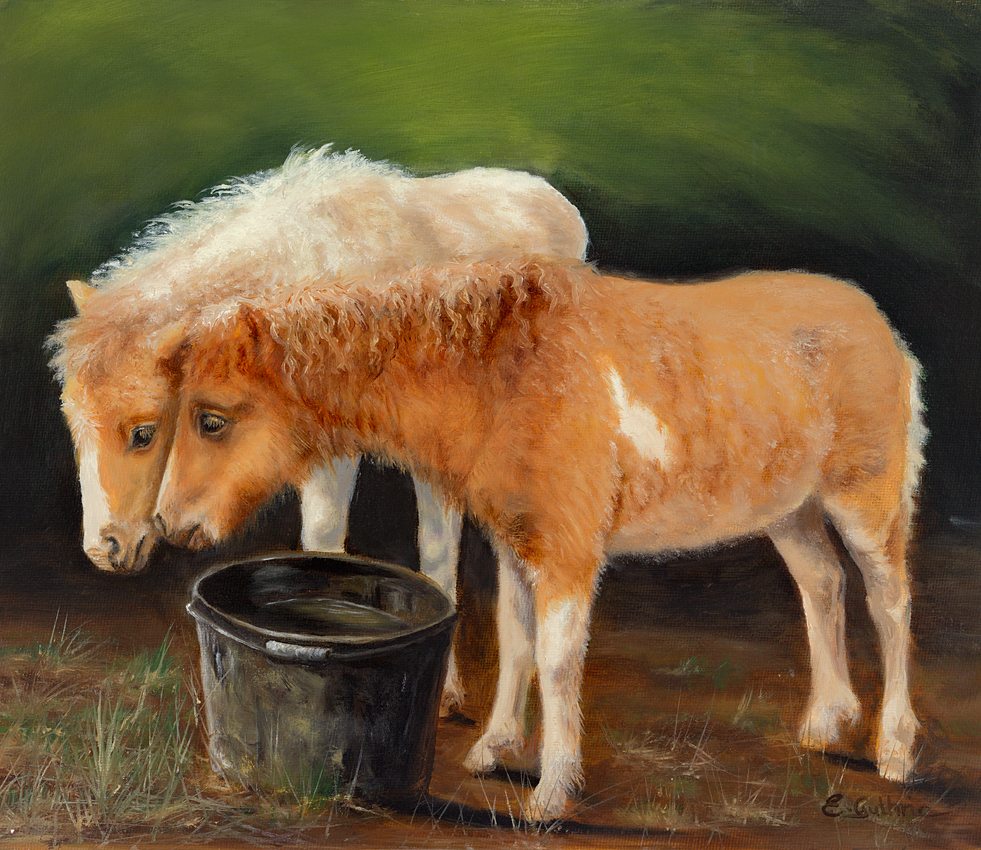 Elspeth Guthrie - At The Waterbucket
