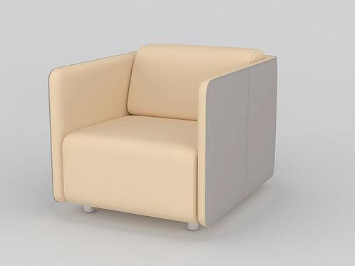 Carina Single Seater Sofa in Cream