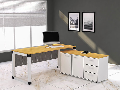 Santino Executive Table in Hackberry