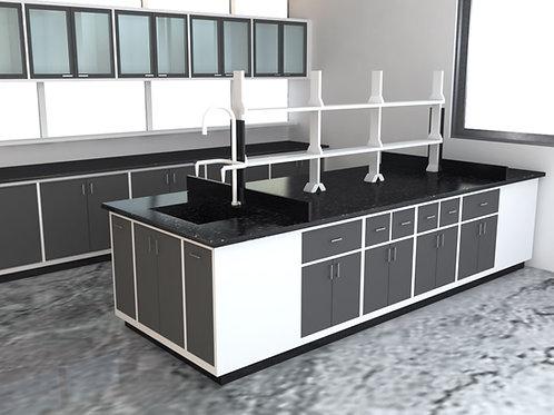 Atlas Laboratory Furniture in White & Charcoal