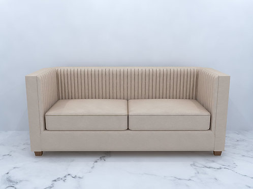 Beatrice 2 Seater Sofa In Latte Colour