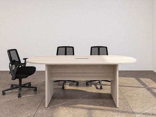 Basil Meeting Table in White Oak