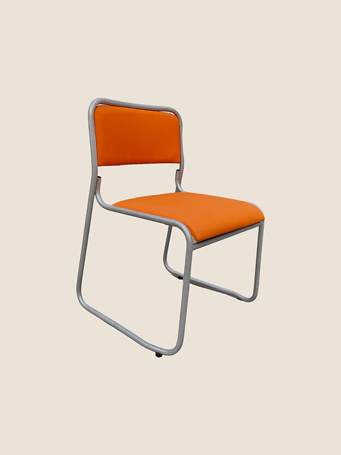 Lucia Visitors Chair in Orange