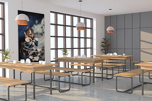 Segura Canteen Chairs & Tables in Garden Walnut