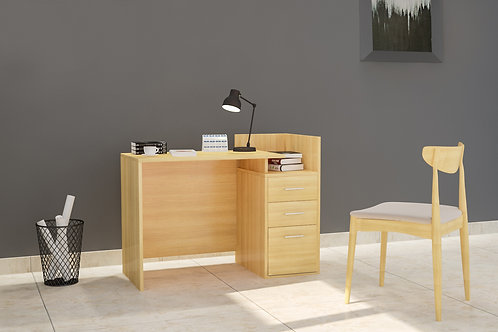 Avery Work From Home Table in Cream
