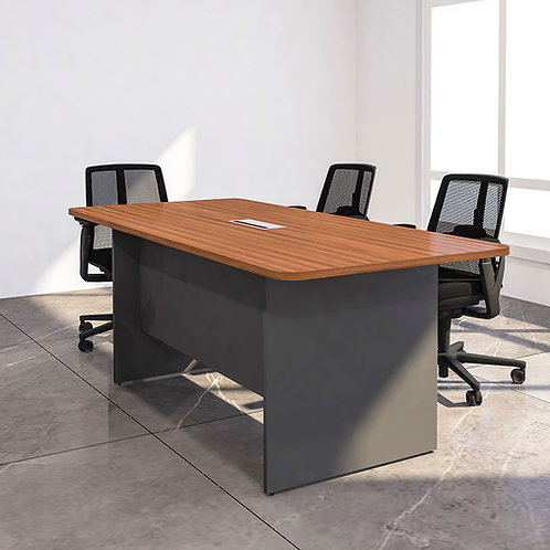 Bemus Meeting Table in Classic Walnut