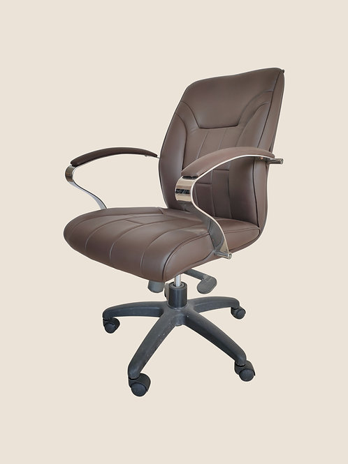 Carlo Executive Chair in Light Brown