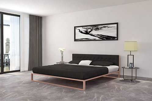 Oliver Double Bed in Apple Finish