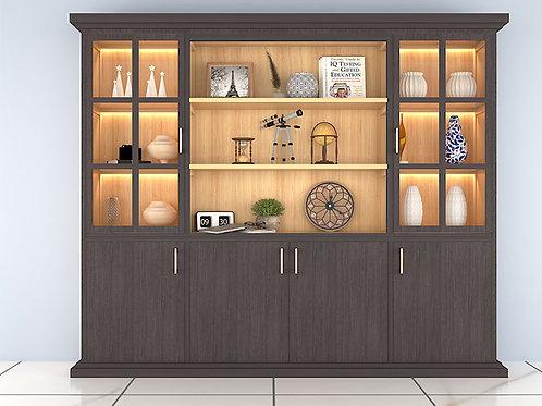 Marco Display Cabinet In Dark Wenge