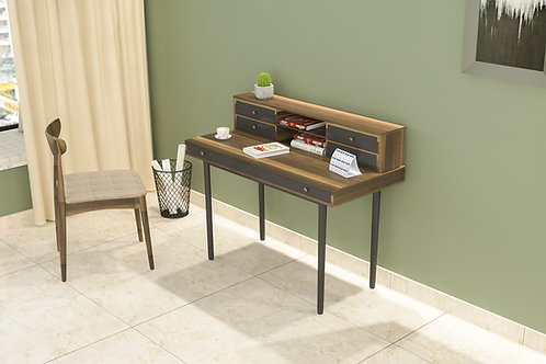 Sophia Work From Home Table in Golden Brown