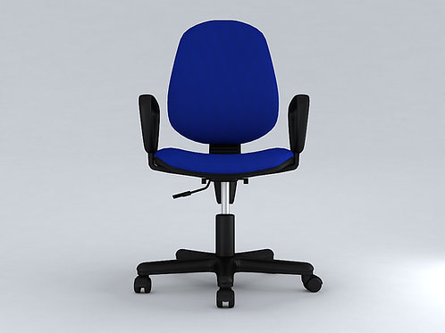 Dego Ergonomic Chair in Navy Blue