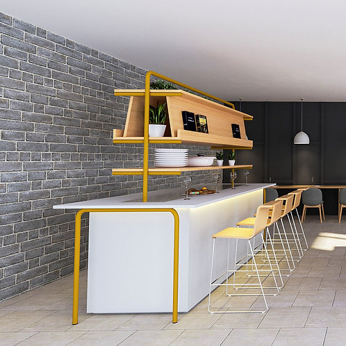 Rhone Canteen Furniture with Single Side Seating
