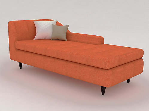 Gino Lounger In Peach
