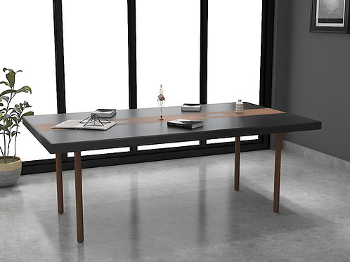 Ferrando Conference Table in Dark Oak