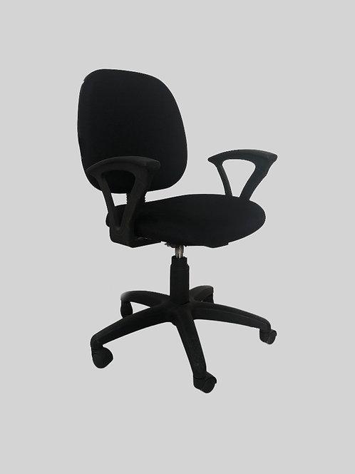 Iker Ergonomic Chair in Black