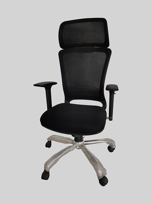 Gabriello Ergonomic Chair in Black
