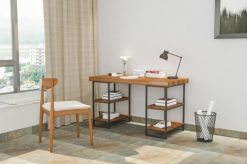 Felix Work From Home Table in Maple