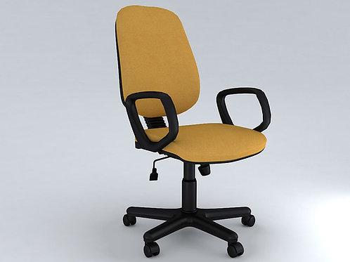 Tadeo Ergonomic Chair in Banana Yellow