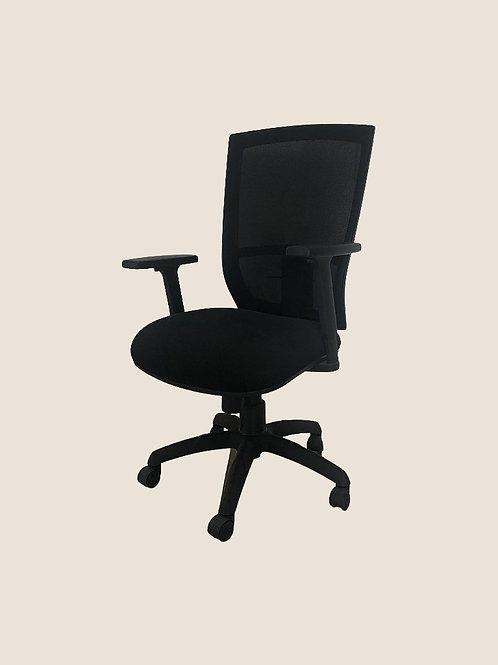 Daniel Ergonomic Chair in Black