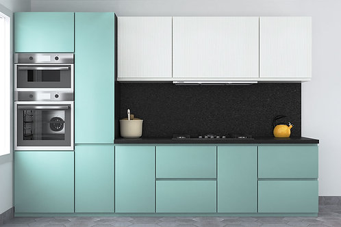 Basilia Modular Kitchen in Linear Design