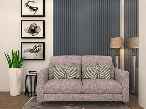 Duccio 2 Seater Sofa In Pacific Rosewater