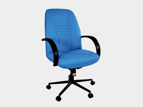 Avel Medium Back Ergonomic Chair in Ocean Blue