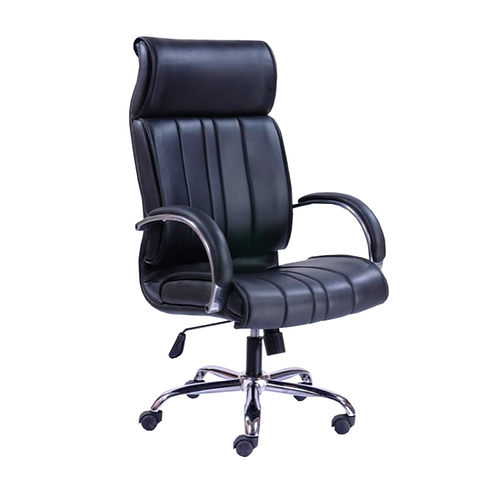 Jason High Back ergonomic Chair in Black