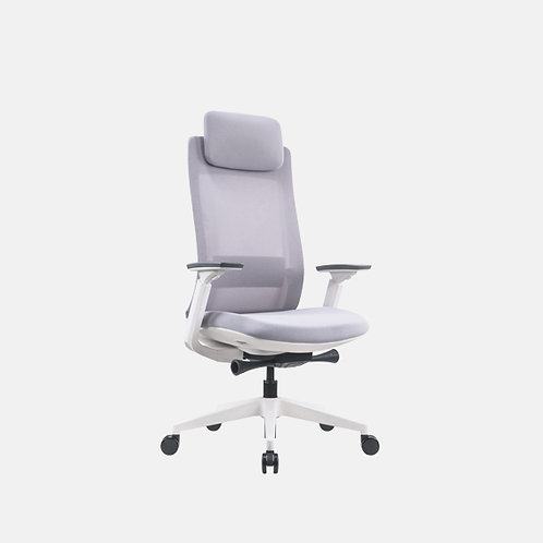 Enova HB White Mesh Chair