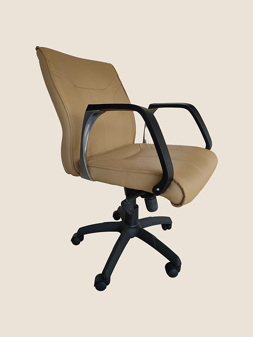 Filippo Executive Chair in Beige