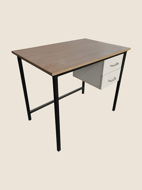 Calvino Office Desk in Maple
