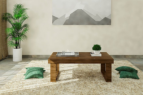 Domino Center Table in American Beech