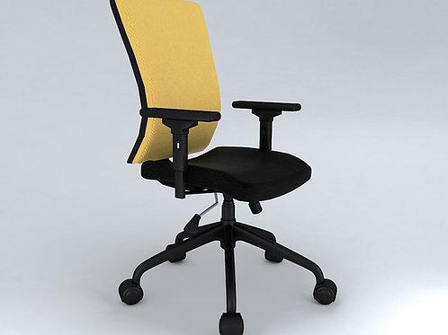 Cambio Ergonomic Chair in Gold & Black