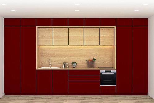 Carissa Modular Kitchen in Linear Design