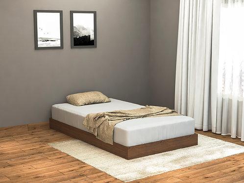 Megan Single Bed in Walnut