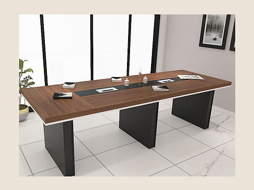Gregorio Conference Table in Walnut (12 seater)