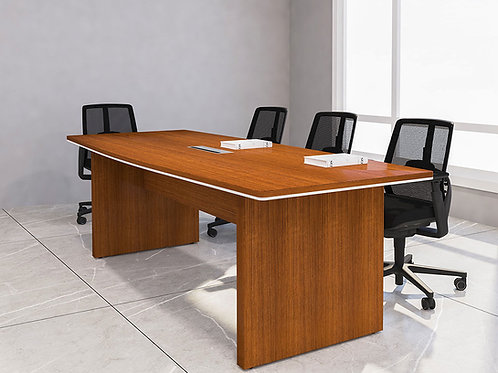 Alec Meeting Table in Light Makore