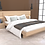 Thumbnail: Alessia Double Bed with Two Bedside Tables in French Oak Finish