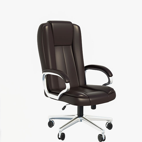 Lazaro Executive Chair in Charcoal Grey