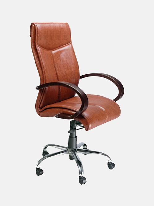 Morpheus High Back Ergonomic Chair in Leather Finish